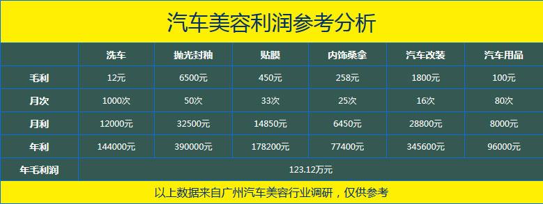 广州北方汽车学院汽车美容行业分析