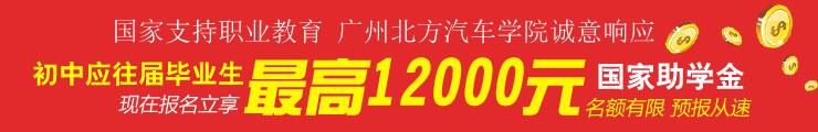 广州北方汽车学院国家助学金